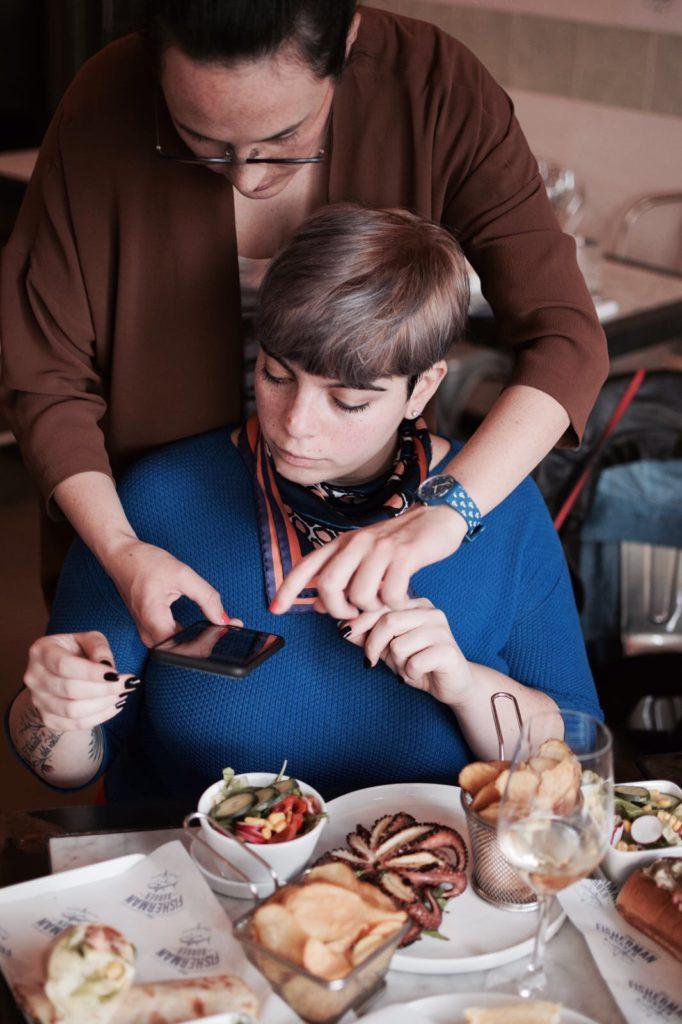 social lunch - tra foto e cibo