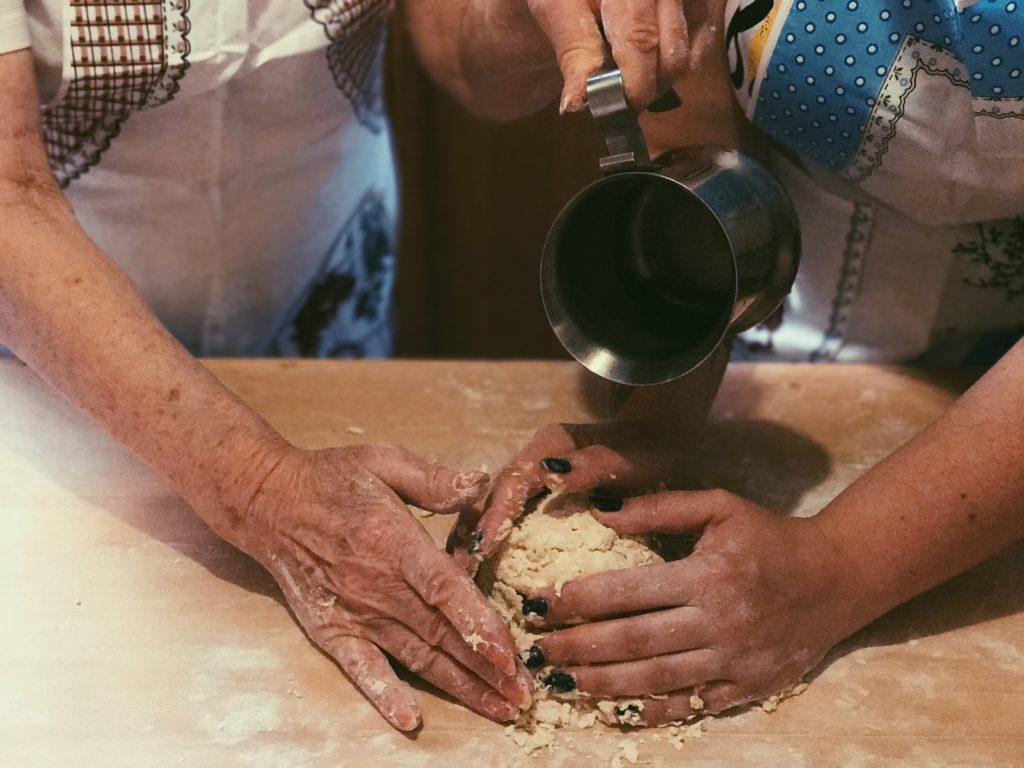 Federica Paola Muscella - cucinare con nonna