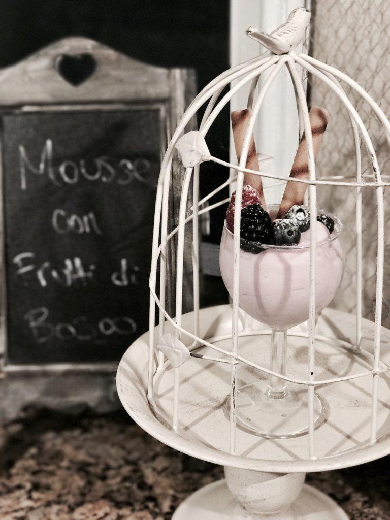 Ventis Mousse - Semifreddo ai frutti di bosco
