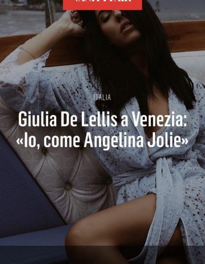 federica paola muscella - giulia de lellis - vanity fair italia
